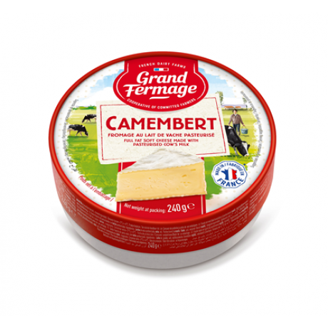 Camembert Grand Fermage 'Merci Chef' 240 g.