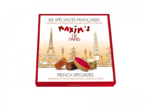 Cardbox of French specialties