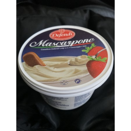 "Mascarpone Cheese ""Defendi"" 500 g"