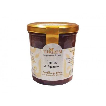 Aquitaine strawberry jam 375 g