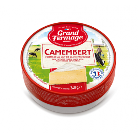 Camembert Grand Fermage 'Merci Chef' 125g