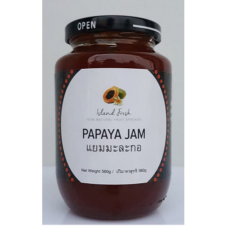 "Papaya Jam ""Island fresh"" 560 g"
