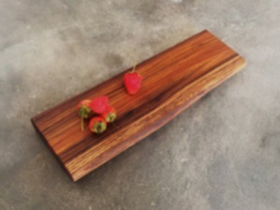 Cheeses and Tapas boards in salvaged Teak