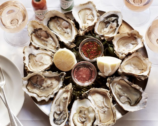Oyster Platter at starting price 2,304 THB/ box