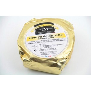 Churned Butter - hand molded - 250g (salt)