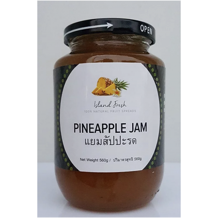 "Pineapple Jam ""Island Fresh"" 560 g"