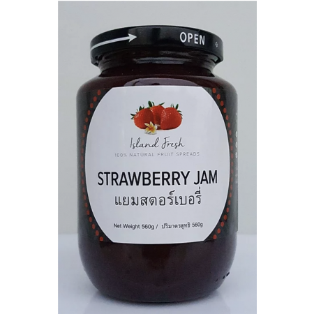 "Strawberry Jam ""Island Fresh"" 560 g"