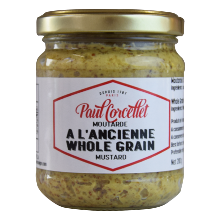 "Whole Grain Mustard ""Paul Corcellet"" 200g"
